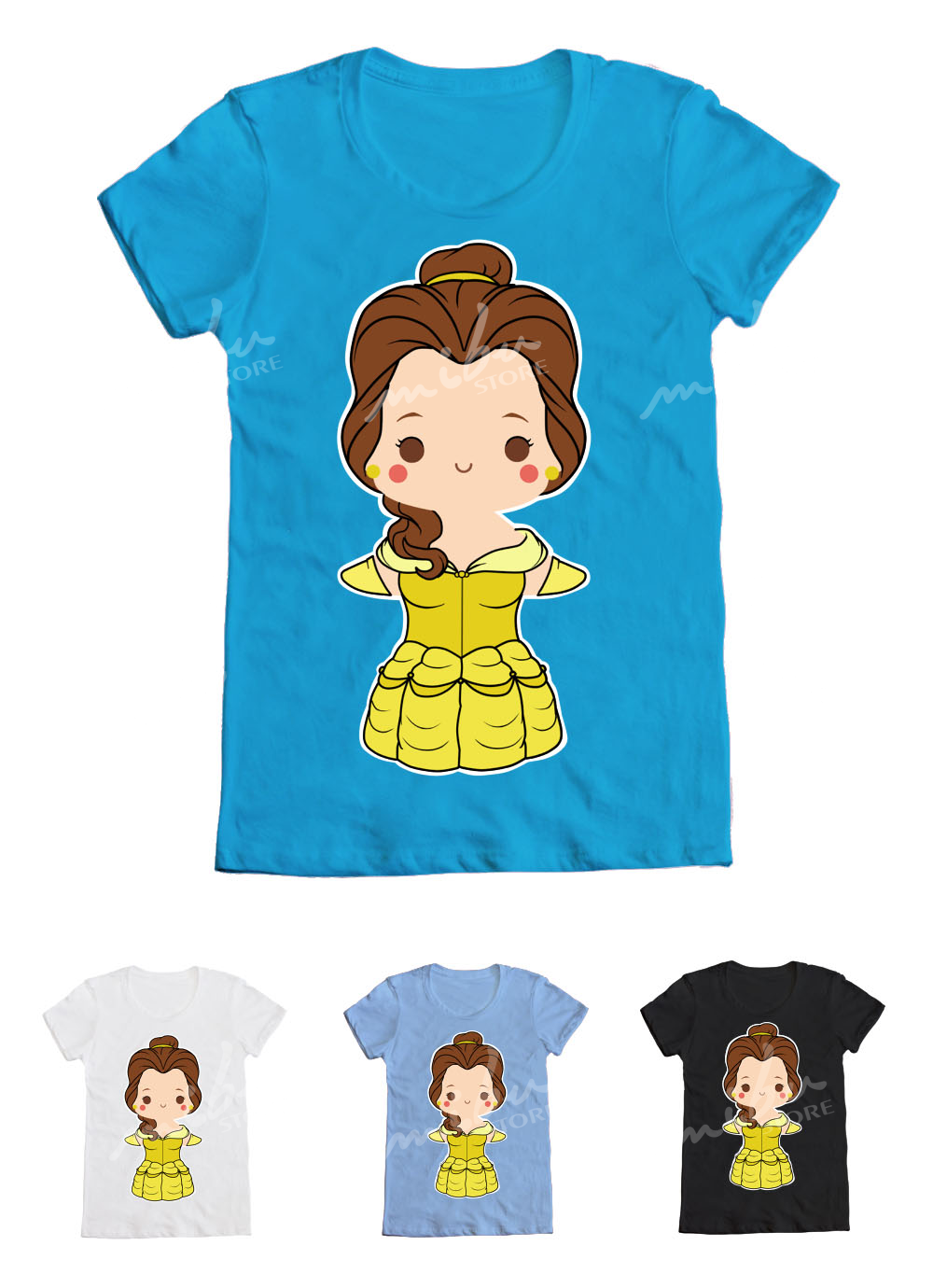 Beauty And The Beast Belle T Shirt On Storenvy