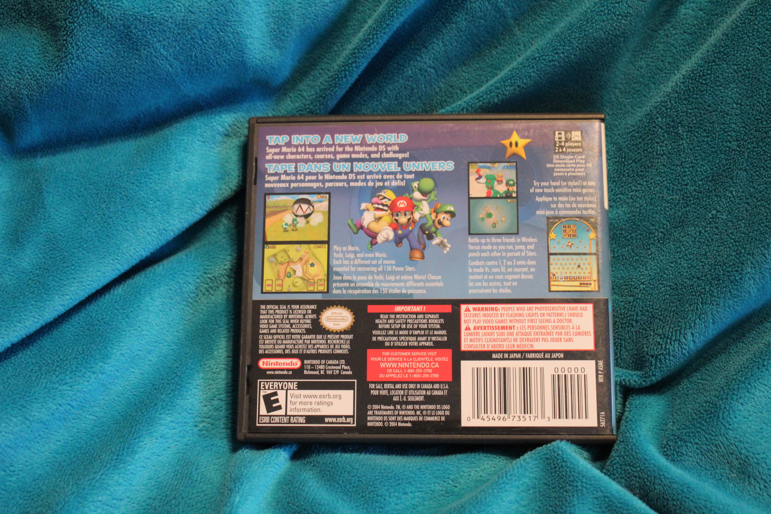 Nintendo Super Mario 64: DS sold by Hobby Closet Thrift