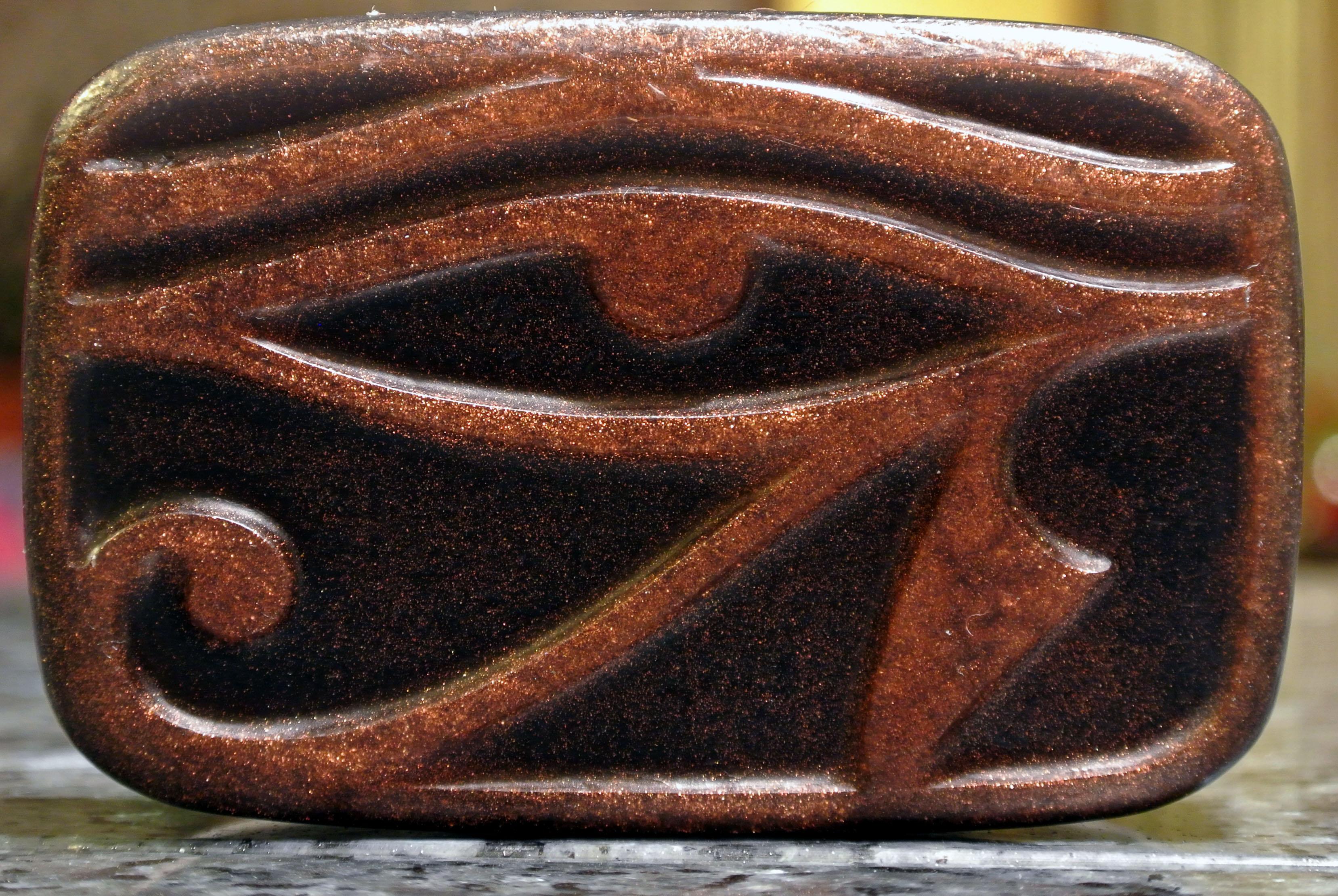 The Eye Of Horus Soap Eye Of Ra The Falcon Eye The Right All