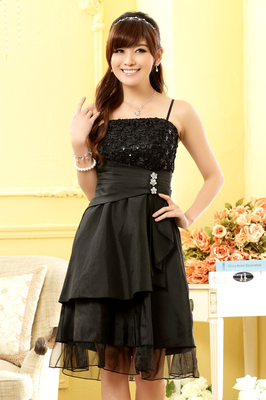 a1a9185cef030 Hot Sale High Quality Fashion New Crystal Decoration Women's Evening Formal  Party Dress+free shipping