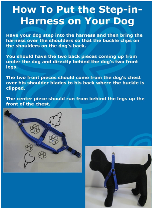 reflective step-in harness for small dogs (Rogz nd) on Storenvy