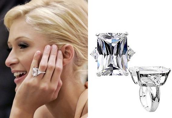Paris Hilton Engagement Ring Reproduction 183 Lita Amp Co
