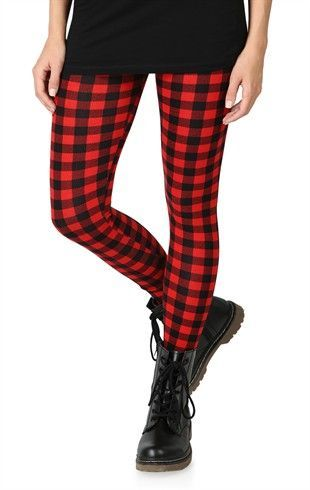 eeb2303ab5a78 Buffalo Plaid Leggings on Storenvy