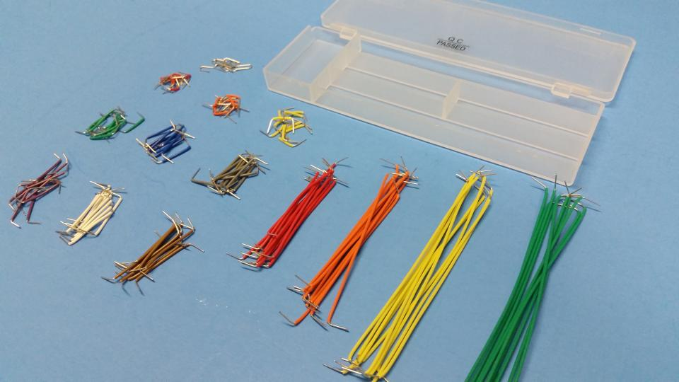 Breadboard Jumper Wire Pack - 140 pieces on Storenvy