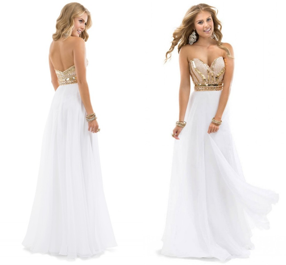 93917b0b301 2015 new arrival free shipping best selling noble beaded sweetheart chiffon  long white rose font b
