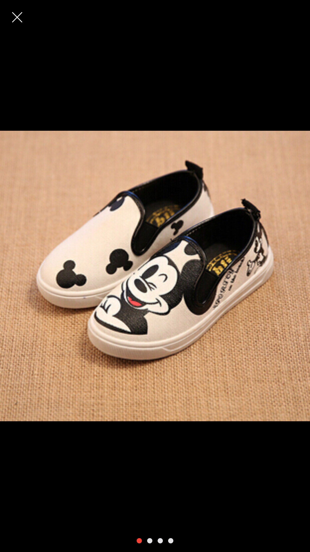 Mickey Mouse Canvas Shoes sold by