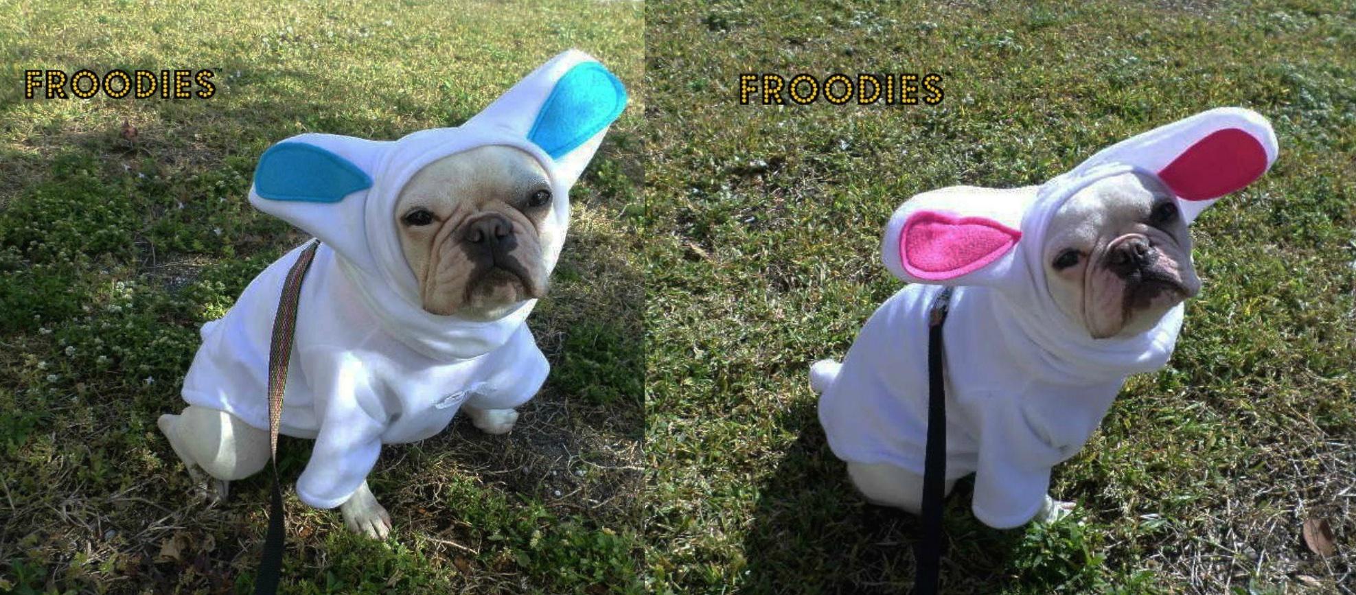 Doublebunny original & French Bulldog Boston Terrier Pug Dog Froodies Hoodies Halloween ...