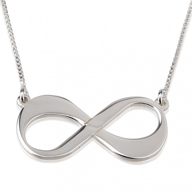 Sterling Silver Infinity Symbol Necklace Ciao Bambina Online