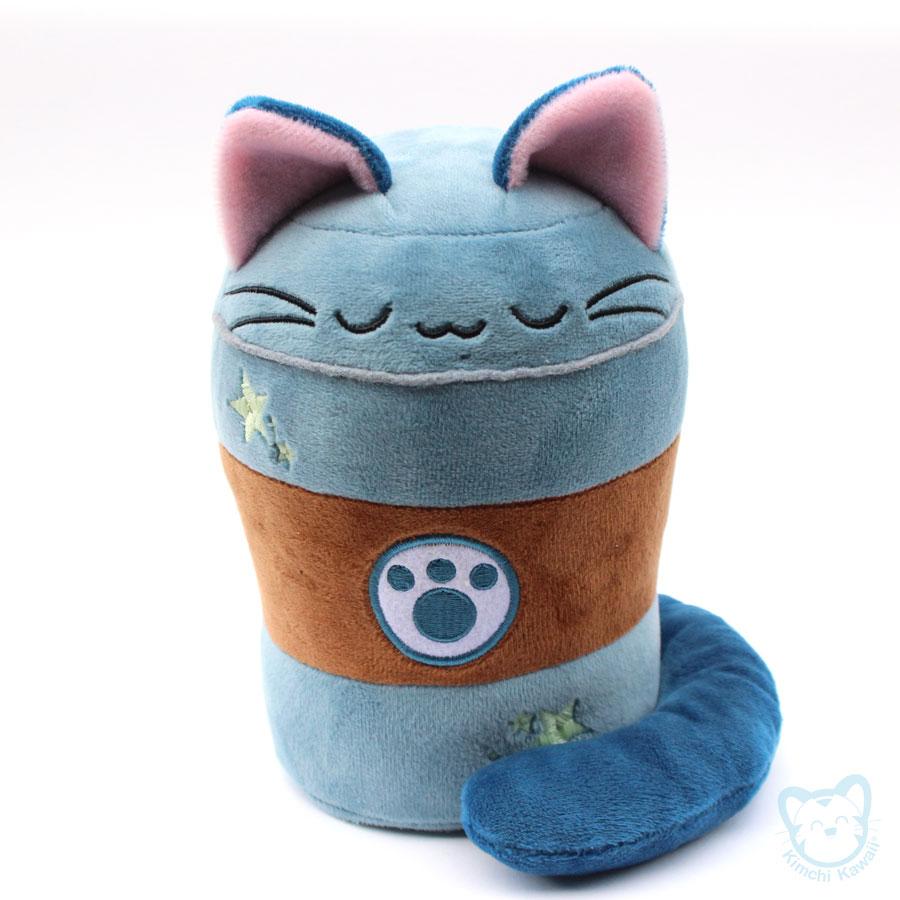 Purrista Pawfee Cute Decaff Coffee Kitty Cat Plush Kimchi Kawaii