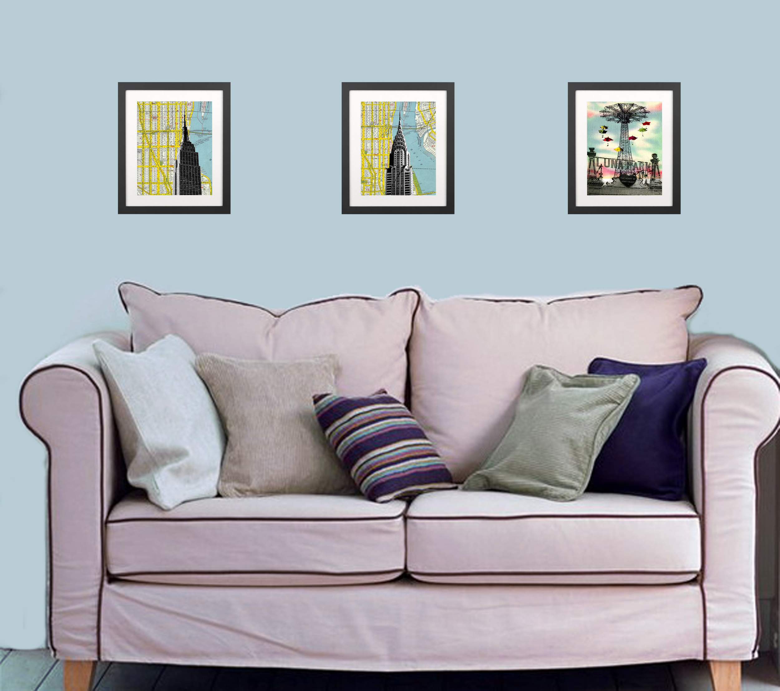 Home Decor Stores New York: Empire State Building -New York City Manhattan Home Decor