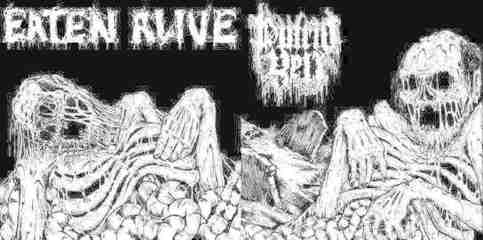 Putrid Yell Chile Eaten Alive Chile Vicious Manifestation Of Horror And Death 7 2014 Sold By Larval Productions