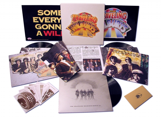 Traveling Wilburys Collection 3 Lp Vinyl Box Set 183 Roy