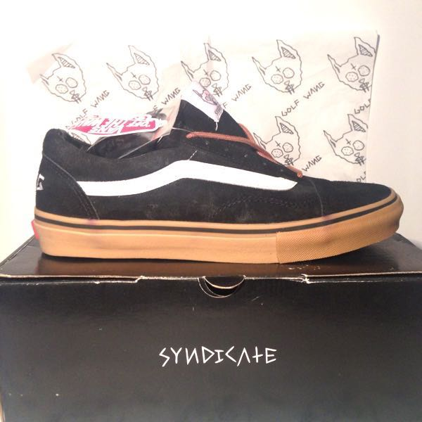 afe585b6f05849 Golf Wang Vans Syndicate Black Shoes Size 10 (US) on Storenvy