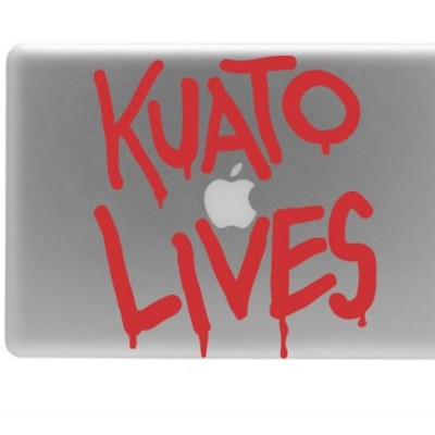 Total recall kuato lives vinyl macbook decal laptop sticker