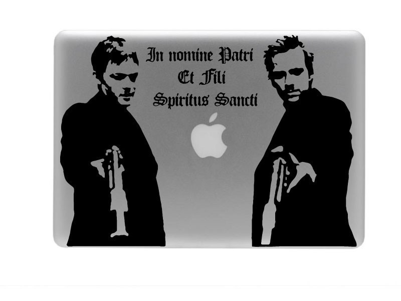 Boondock Saints Vinyl Decal And Quote Sticker For Laptop On Storenvy - Vinyl stickers for laptops