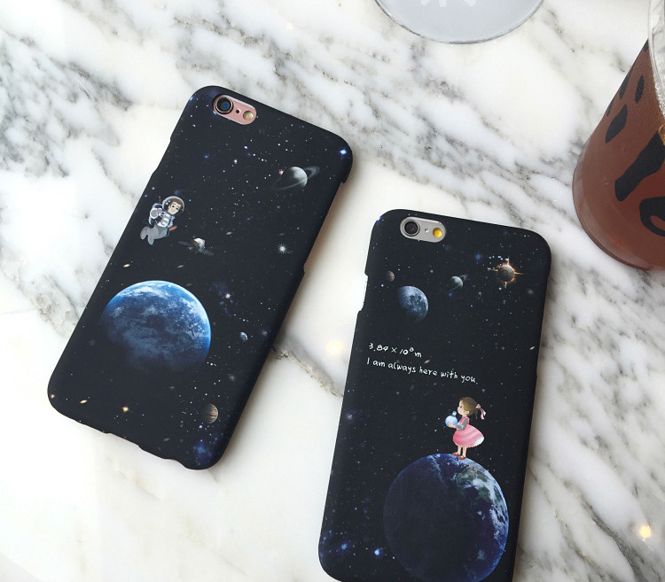 b1db4dbdea Girl and Astronaut Couple Phone Case on Storenvy