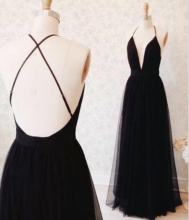 Black Evening Dresses for Teenagers