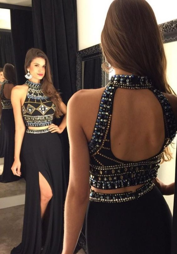 383477df27 2016 Two-Piece Prom Dresses