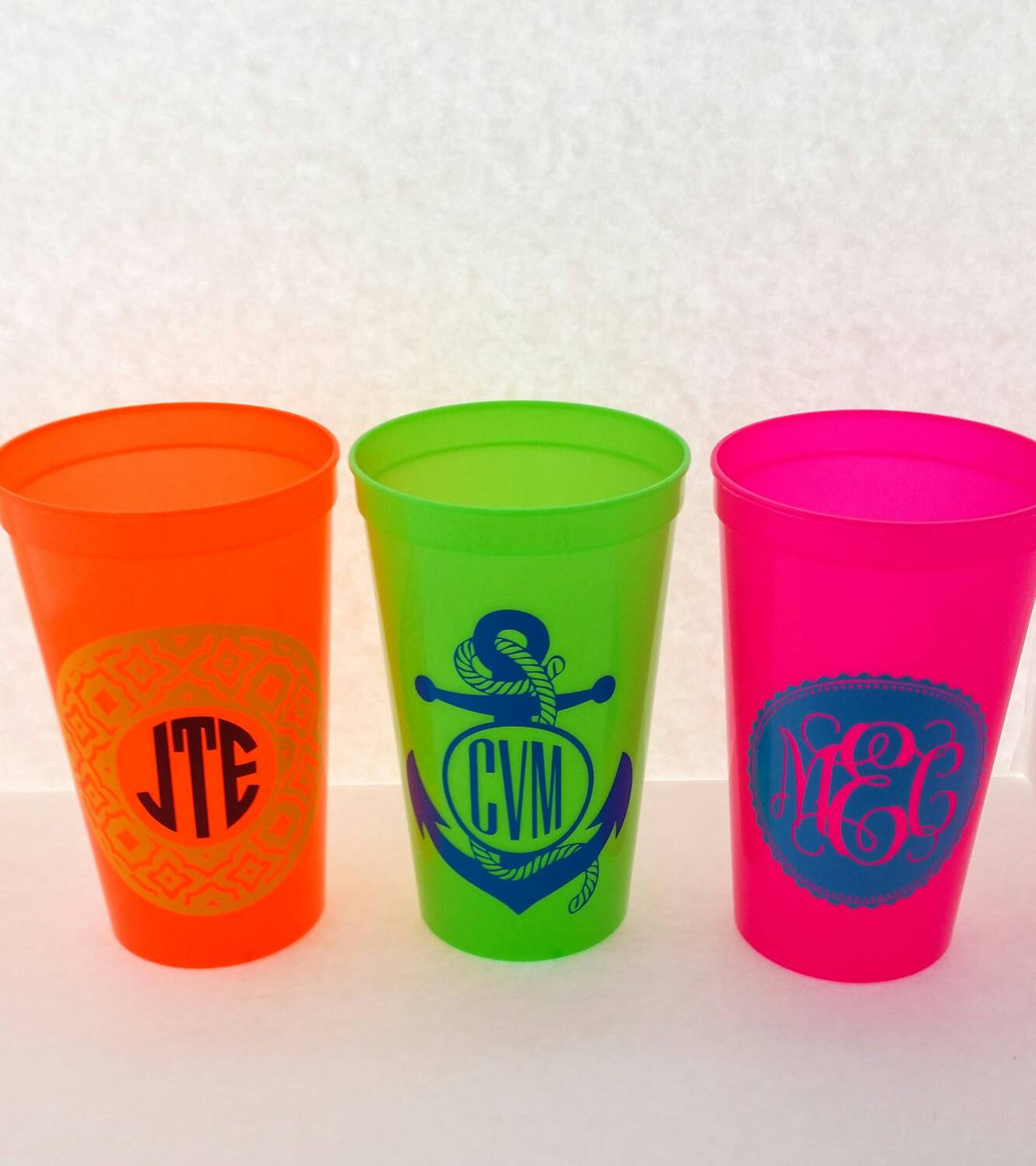 Wholesale Blanks, Quicup Spiker Stadium Cups, lot of 10, 22oz plastic  tumbler with lid straw, BPA FREE, Blank plastic cups, Party Supplies from