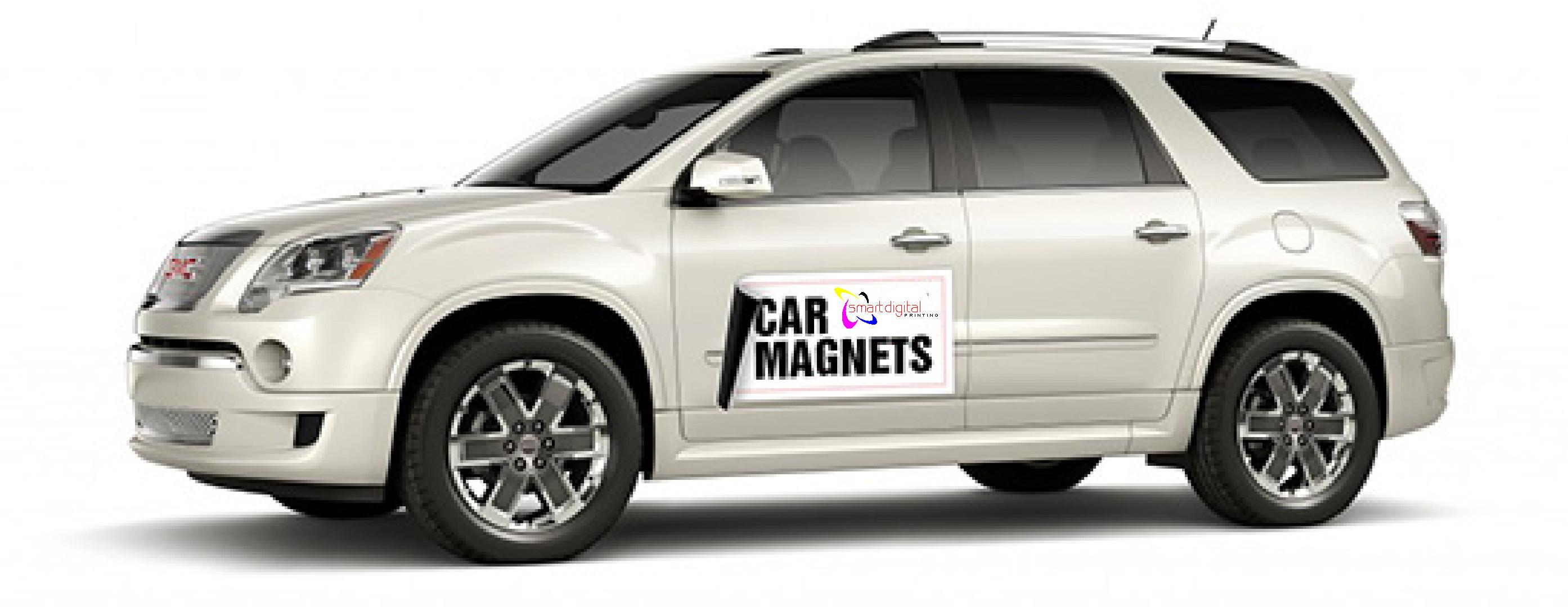 Any company car door magnet