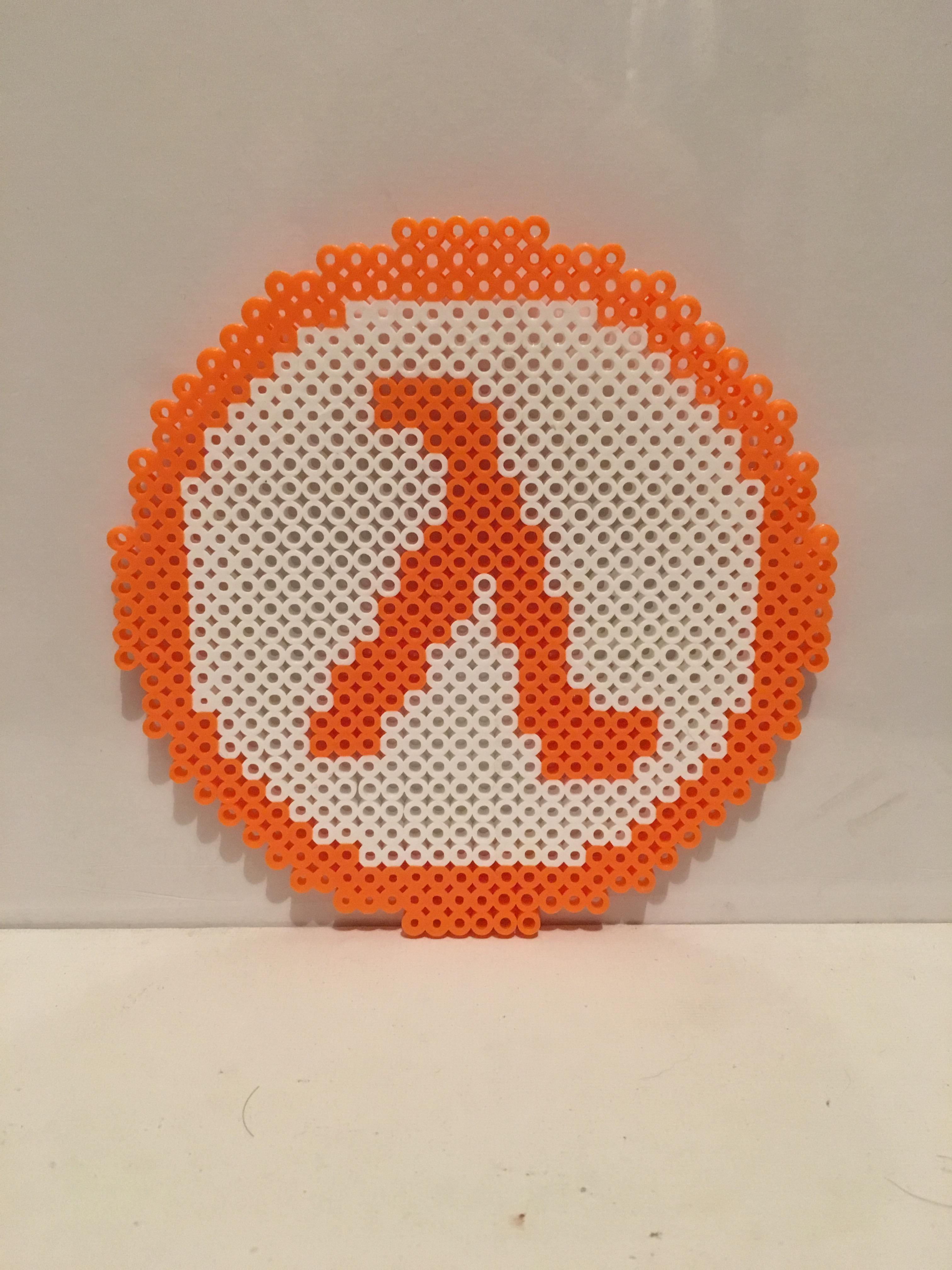 Half Life Symbol Inspired Perler Bead Sprite On Storenvy