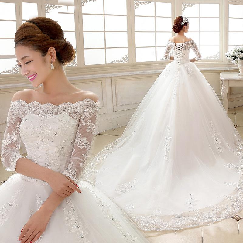 A17 Vestido De Noiva Luxury Wedding Dresses 2016 Bride Princess ...
