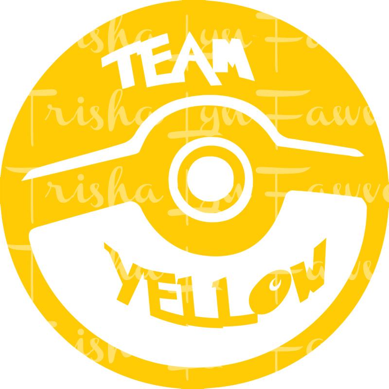 76e782d5ad64 Pokemon GO Team Instinct (Yellow) Decal · TrishaLyn Gifts · Online ...
