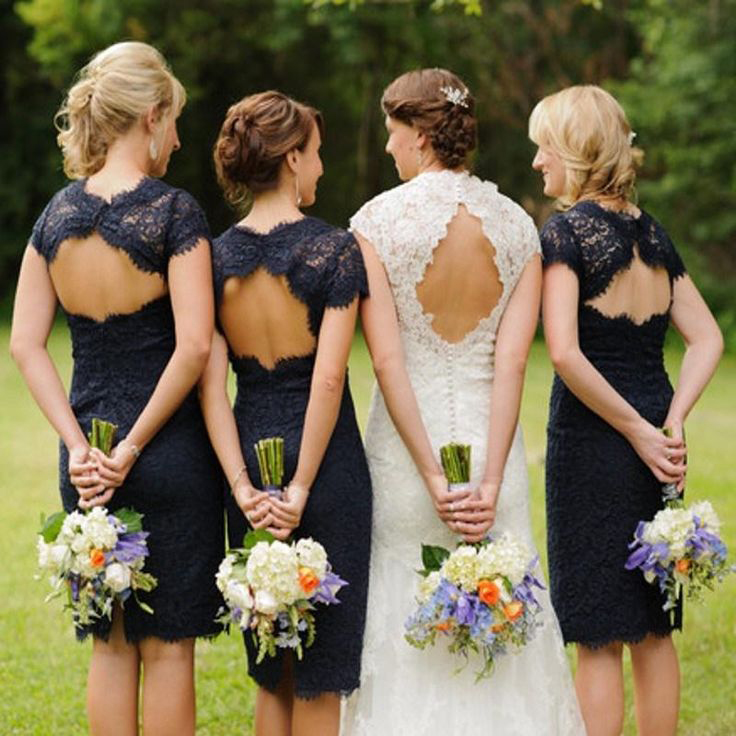 770a43827d Lace bridesmaid dress