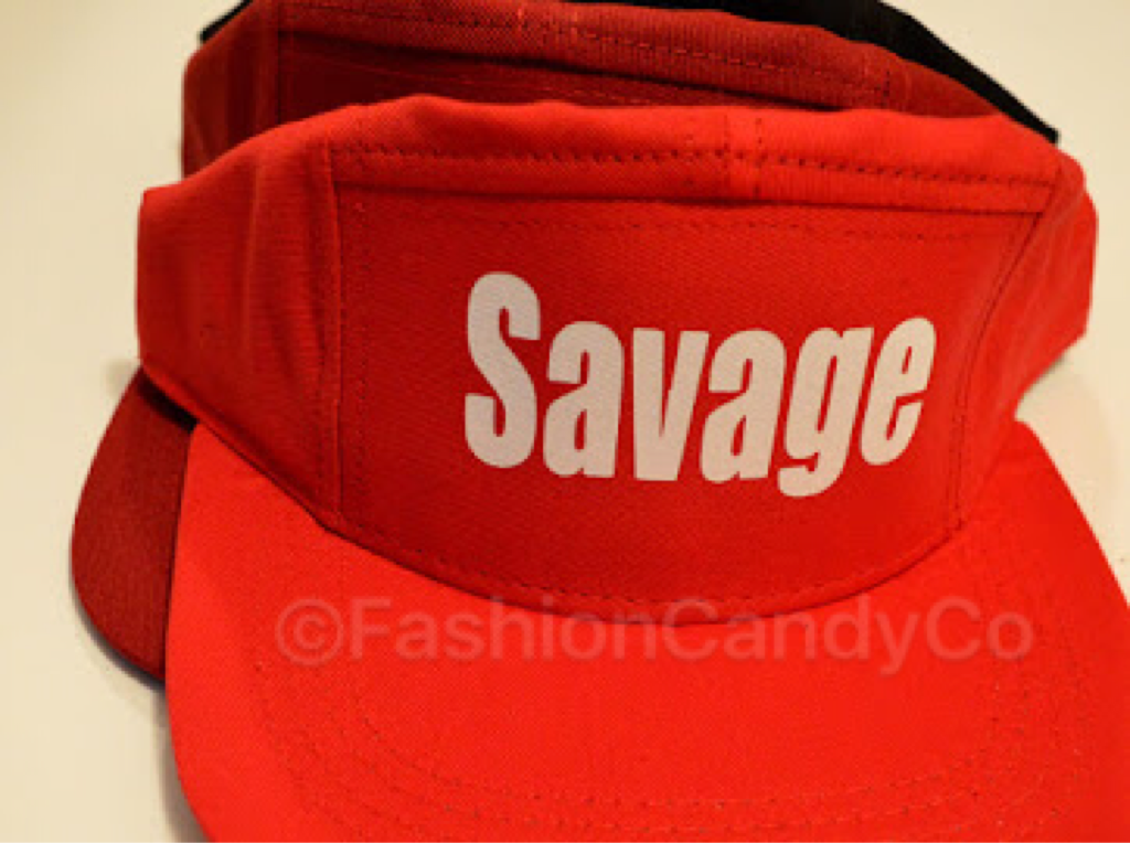 f9659e6eacc Red 5 Panel SAVAGE Hat on Storenvy