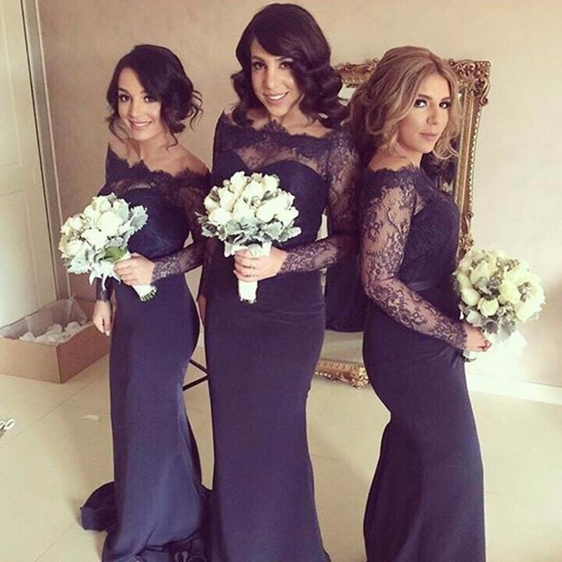 4ca5dedc2ce Lace top bridesmaid dresses