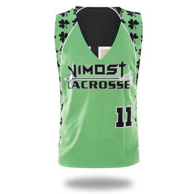 6b07bb5e1 Vimost sports sublimated clover lacrosse reversible pinnies