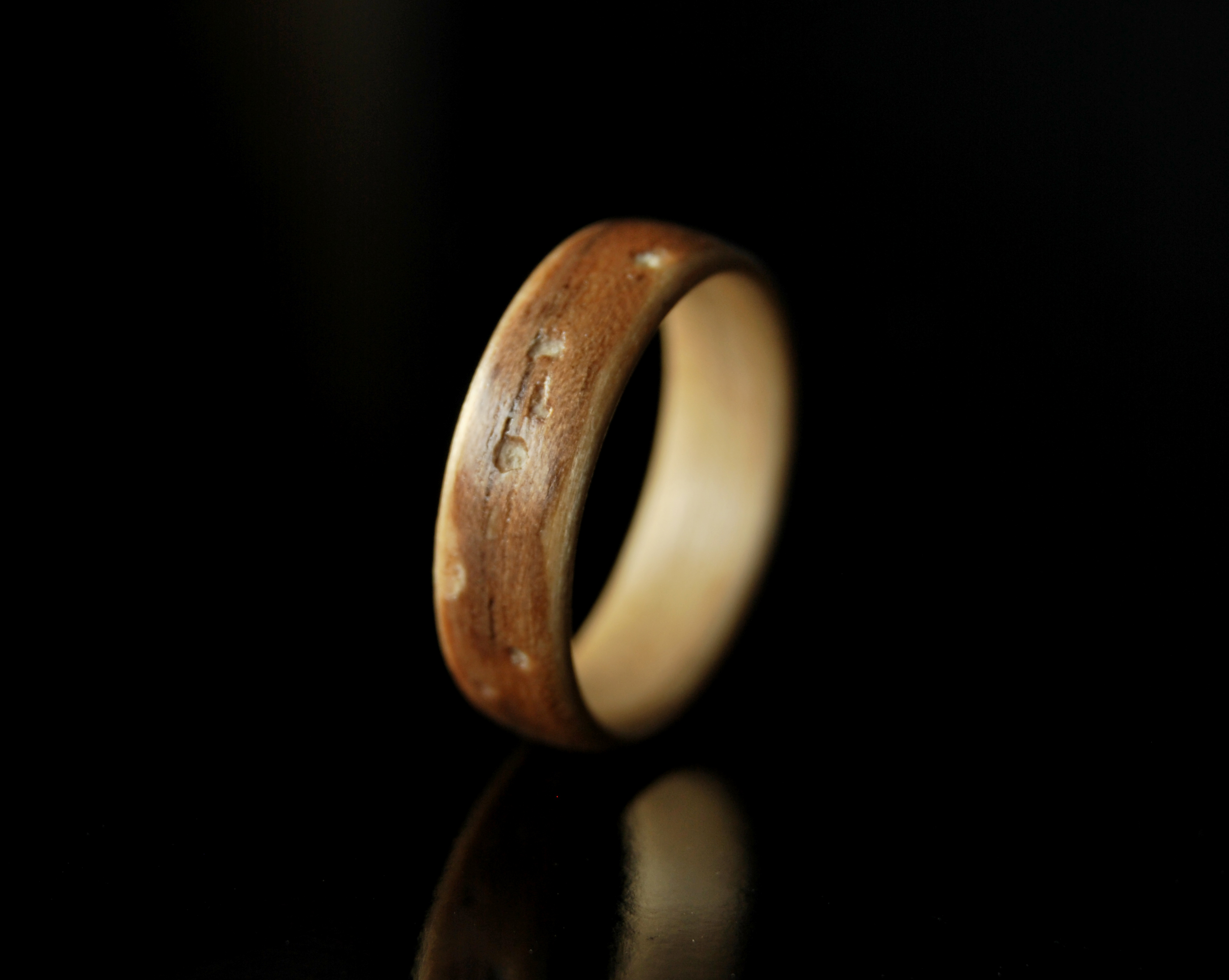 Unique Rings For Her \u00b7 Handmade Wood Ring Women \u00b7 Wenge /& Maple Bentwood Ring \u2022 Gift For Her \u2022 Valentine Gift \u2022  Valentine Gift For Her