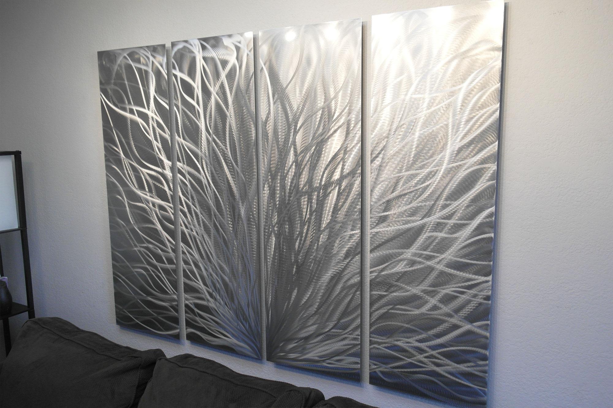 Metal Wall Art Abstract Sculpture