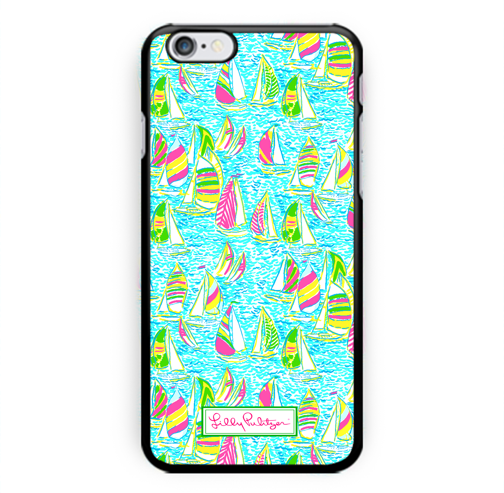 d833ade89e0ef New Hot Custom Lilly pulitzer Summer Surfing Print On Hard Case For iPhone  6/6s