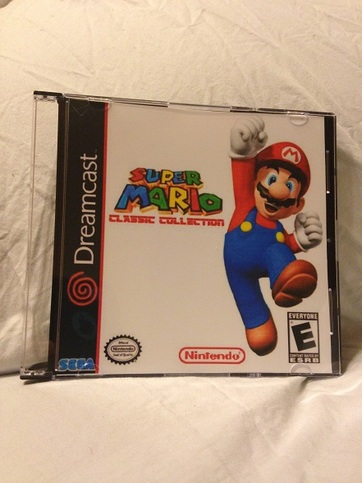 Super Mario Bros Classic Collection Custom Sega Dreamcast Game  Free  Shipping! SMB