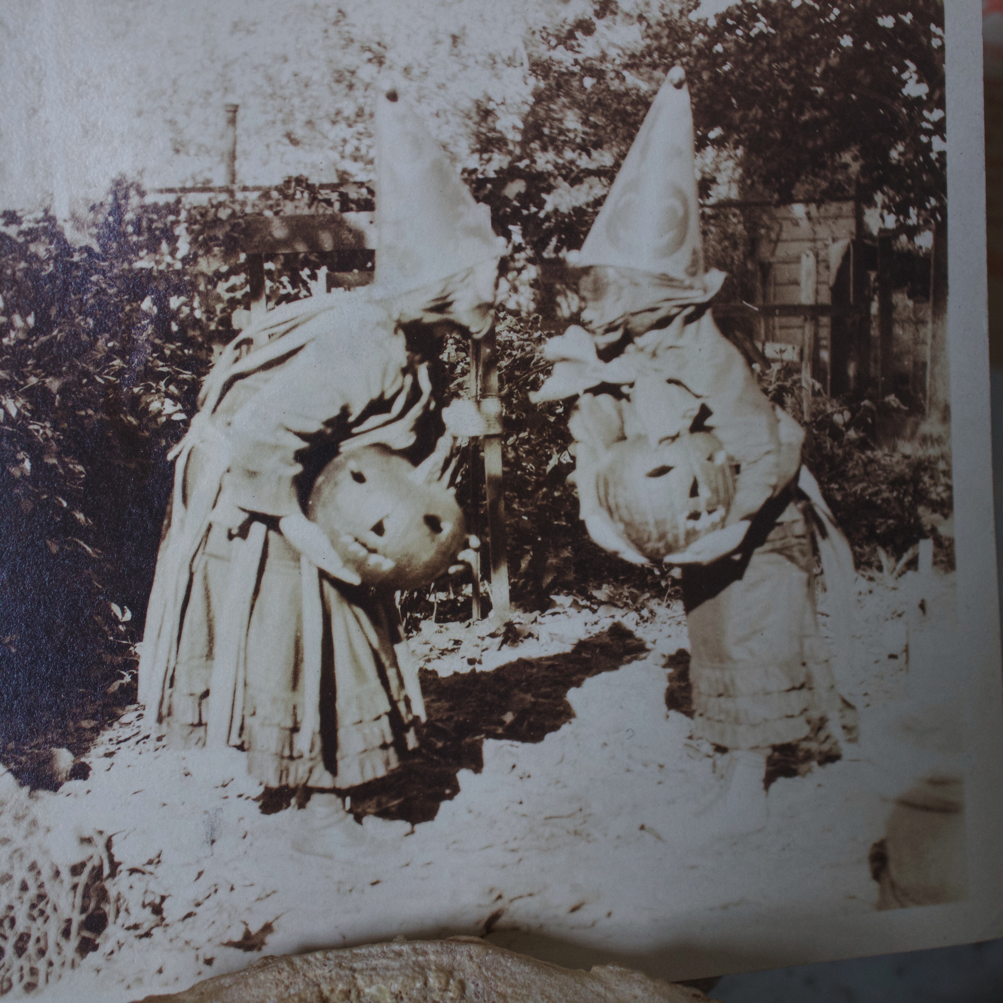 Vintage Halloween Costume Pictures.Antique Halloween Costume Photograph From