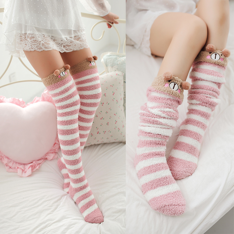 d01a3203e7b Kawaii cartoon plush stockings · Asian Cute  Kawaii Clothing ...