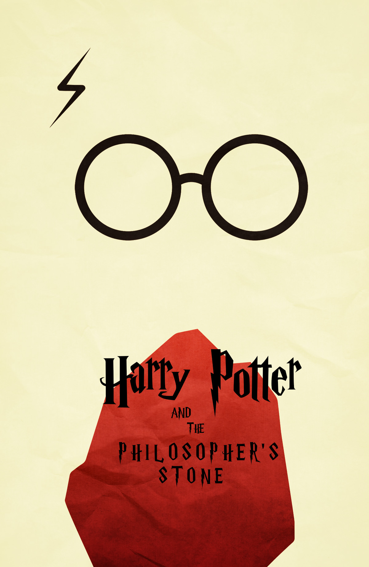 57c420bdb5 Harry Potter and the philosopher stone Movie Poster on Storenvy