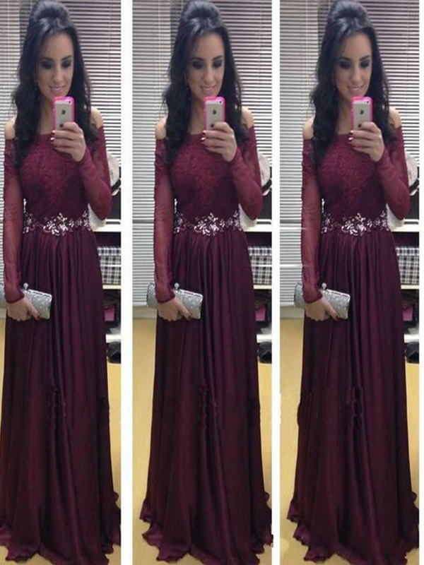 be932aa87ff2 Long Sleeve prom dress