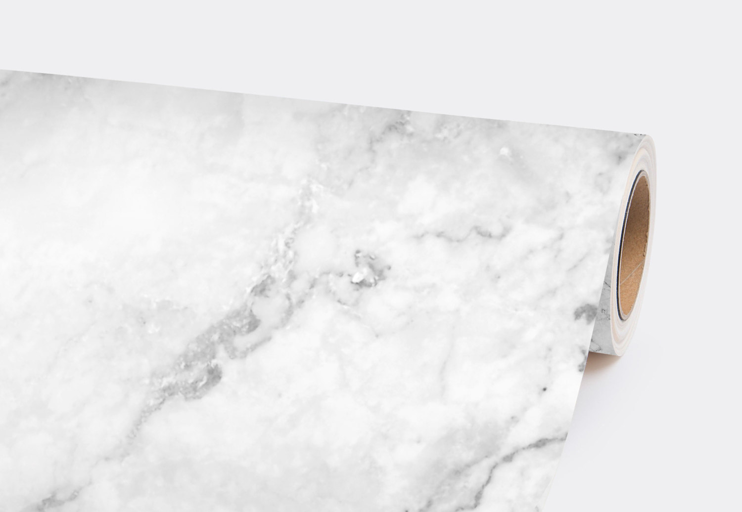 White Marble Removable Wallpaper Stone Texture Wall Mural Peel And Stick Wallpaper Self