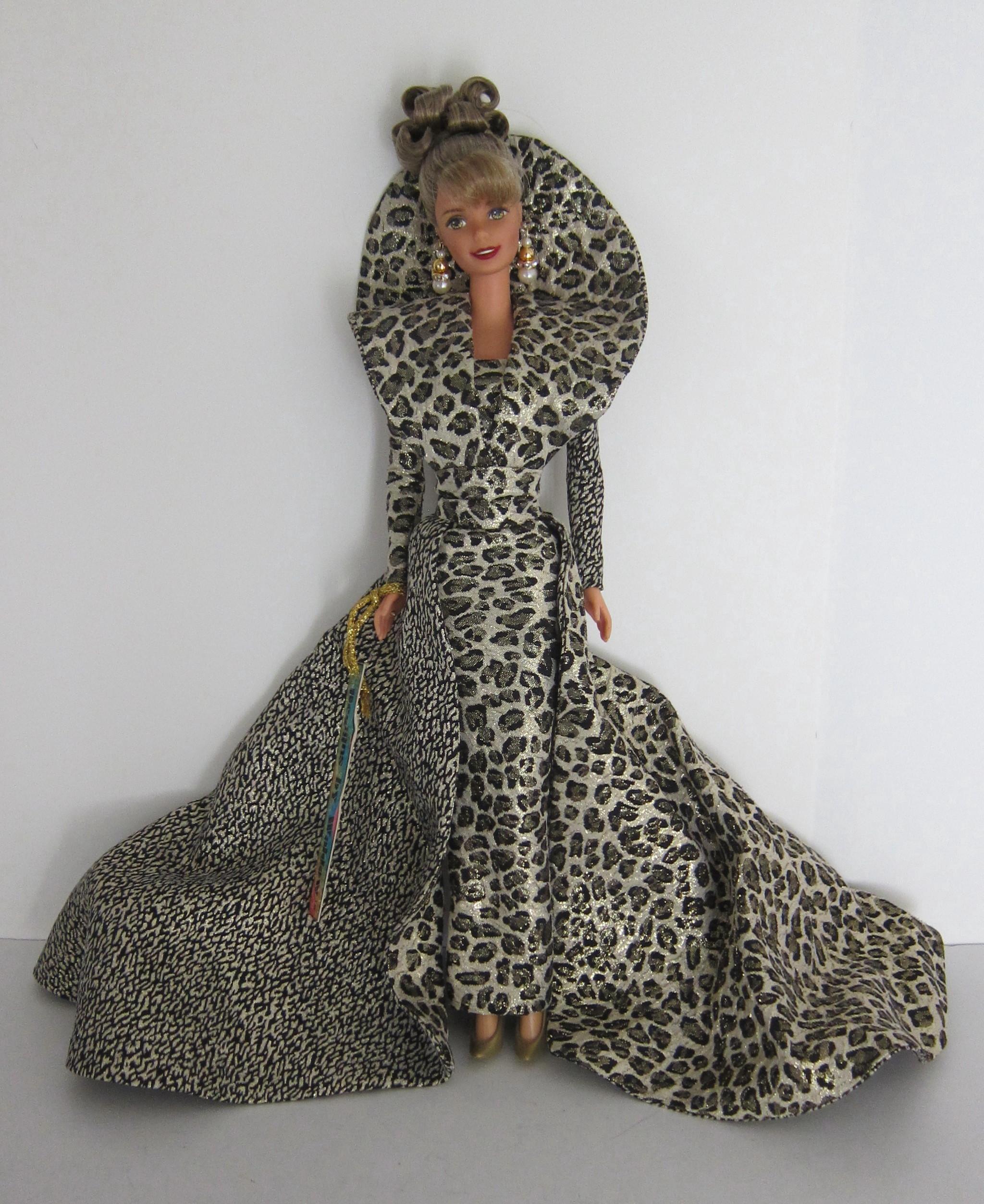 Bill Waldow OOAK Artist Barbie Doll in Leopard Print Gown on Storenvy
