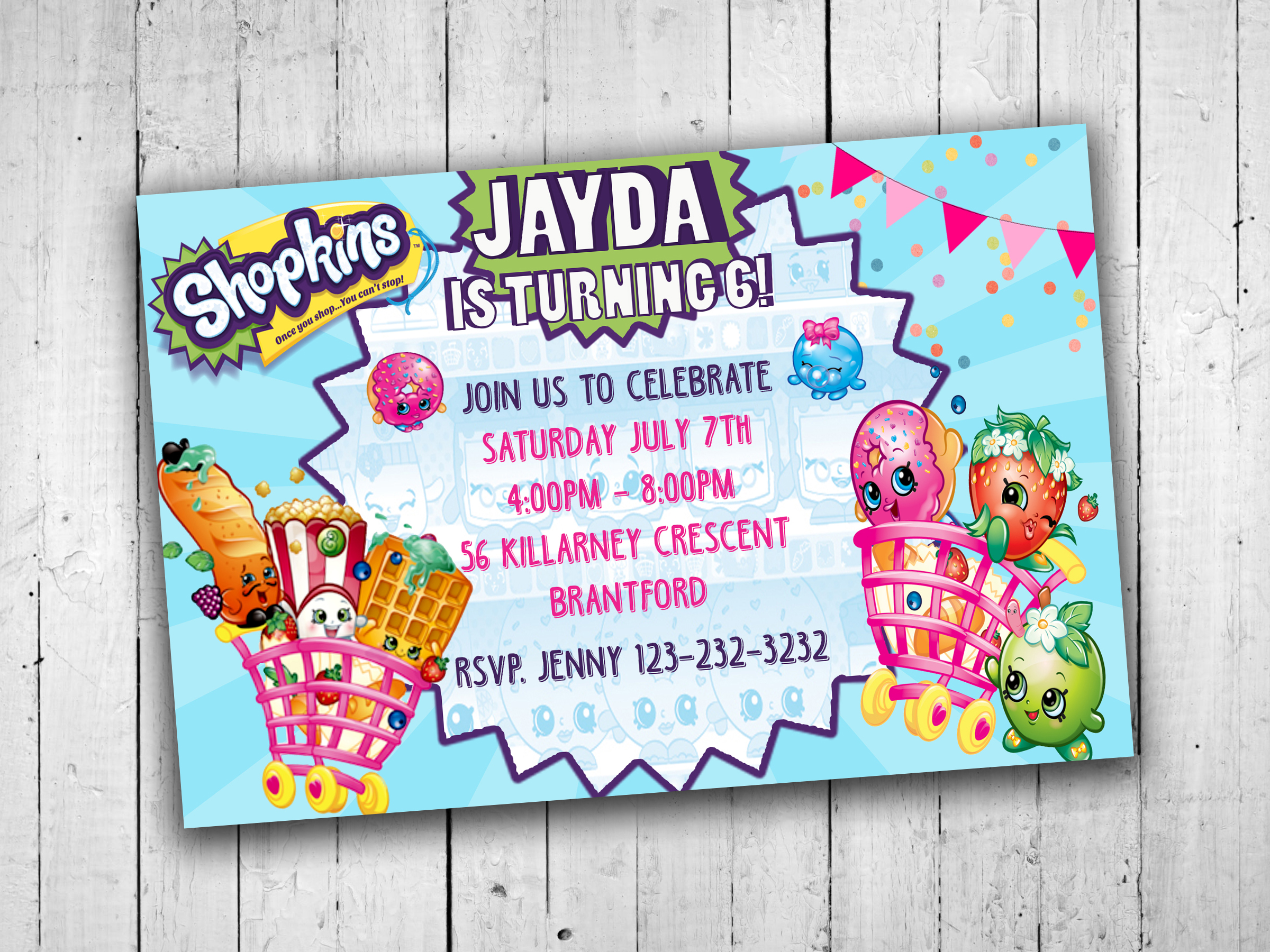 graphic regarding Shopkins Printable Invitations named Shopkins Bash Invites, Youngsters Bash Printables, Little ones Occasion Invitations, Printable Invites, Young children Birthday Occasion Invites bought as a result of KidsPartyPrints