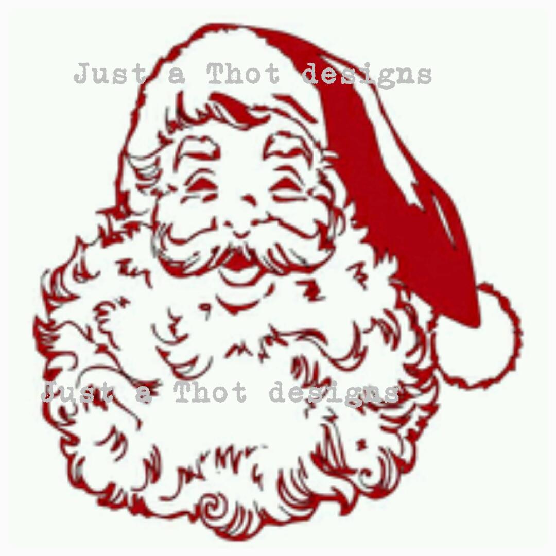 Santa Face Svg File 183 Jatdesigns 183 Online Store Powered By