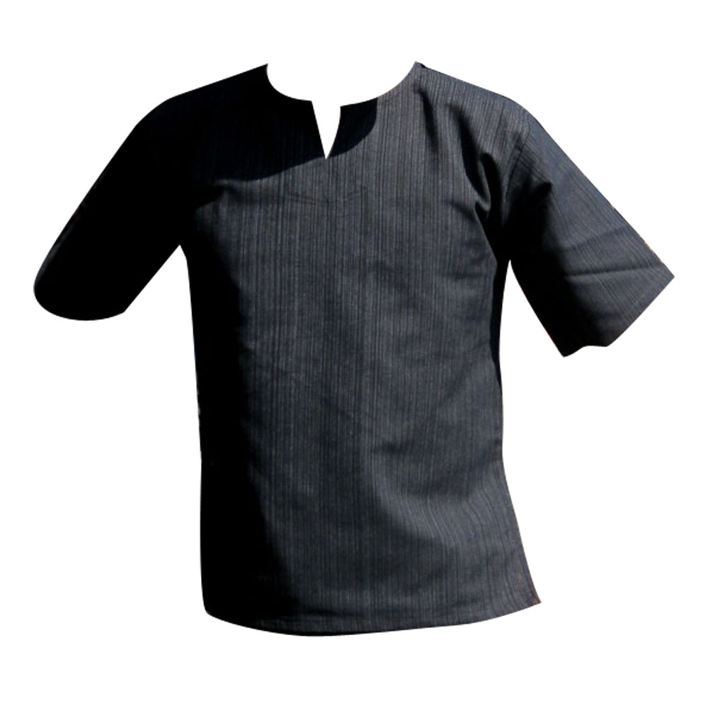 e425f46d25d XL   Men s Short Sleeve Shirt Summer Casual Thai style Cotton ...