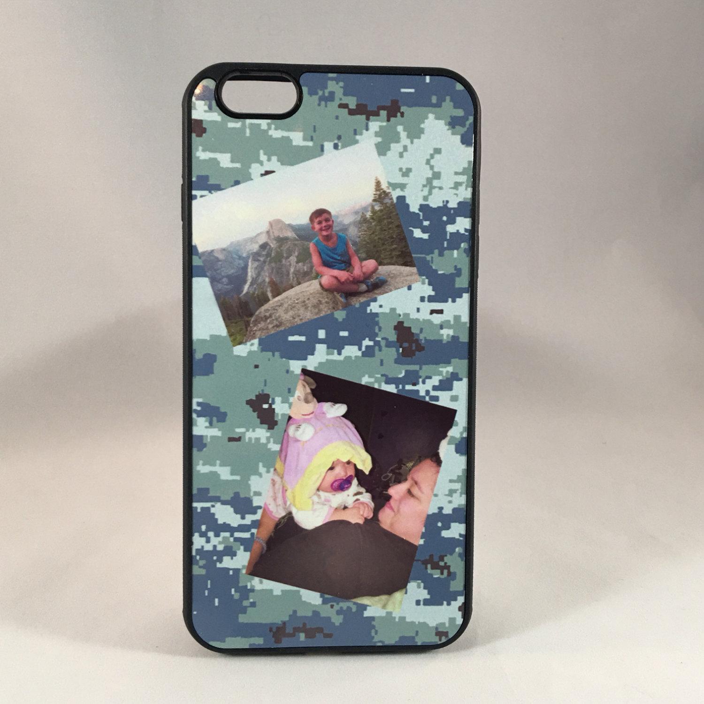 size 40 fbd36 da1f4 Custom Photo Phone Case for iPhone ( 4, 5, 5S, 6, 6+, 6S, 6S+, 7, 7+,  Galaxy S4, S5, S6)