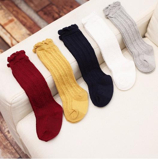 e398ffd0d ... Baby Toddler Mustard Yellow Knee High Socks - Thumbnail 2