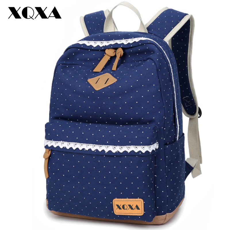 fd9e8da8cd vintage stylish dotted backpack