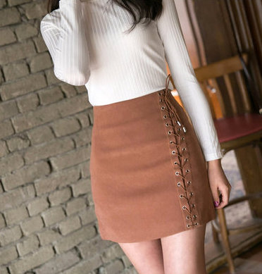 7ba8106930 Kenzi Suede Lace-up Skirt · Fashion Struck · Online Store Powered by ...