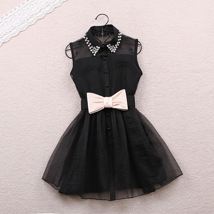 Black Bow Dress