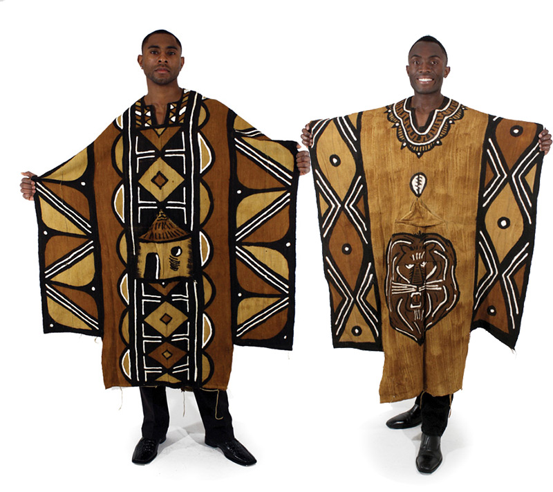 Grand Bubu Mud Cloth Robe. On Storenvy